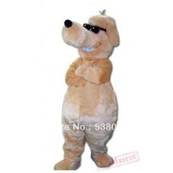 Cool Sunglasses Dog Mascot Costume