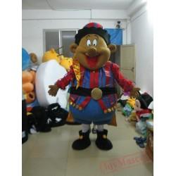 Cool Black Boy Mascot Costumes