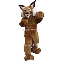 Bully leopard cat Tiger Cat Bobcat Mascot Costume
