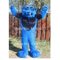 Blizzard Monster mascot costume