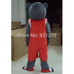 Clutch The Rockets Bear Mascot Costume