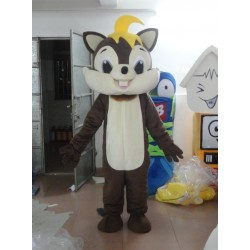 Grey Chip Chipmunk Squirrel Mascot Costume