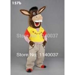 Donkey mascot costume mule costume