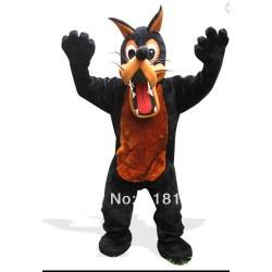 Chester The Wolf Mascot costume