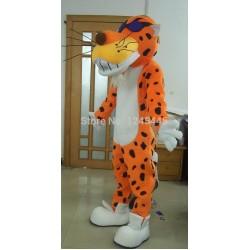 Cartoon chester cheetah carnival costume cheetos leopard mascot
