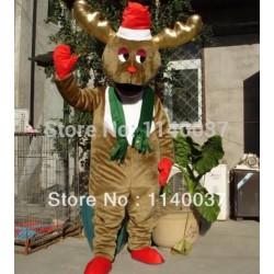 Christmas Moose Reindeer Mascot Stag Costume