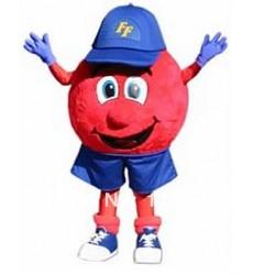 Freddy Foamball Mascot Costume