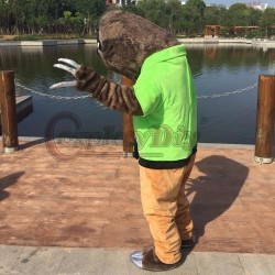Cosplaydiy Zootopia Folivora Sloth Manager Flash Mascot Costume