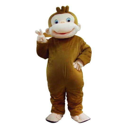 Curious George Mascot Costume