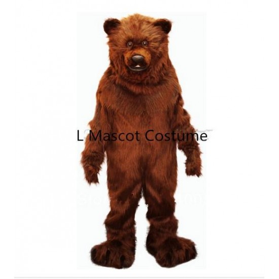 Big Grizzly Bear Mascot Costume