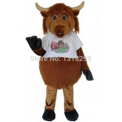 Highland Cow Mascot Costume