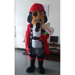 Captain Pirate Mascot Costume