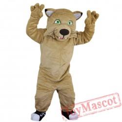 Cat Tiger Leopard Mascot Costume Adult