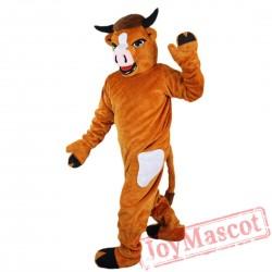 Cattle Cow Bull Ox Mascot Costume Adult