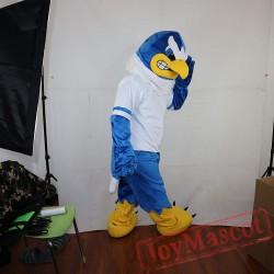 Blue Eagle Mascot Costume Adult