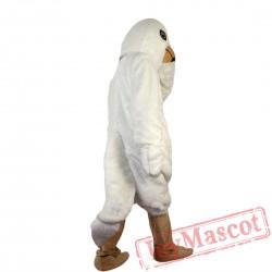 White Pigeon Bird Mascot Costume