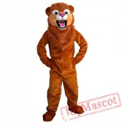 Lion Mascot Costume Adult