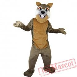 Gray Squirrel Mascot Costume Adult