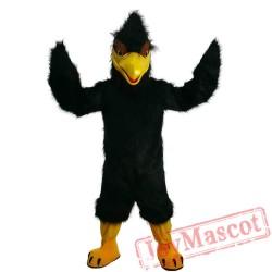 Halloween Black Eagle Mascot Costume