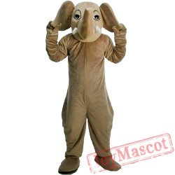 Halloween Elephant Mascot Costume