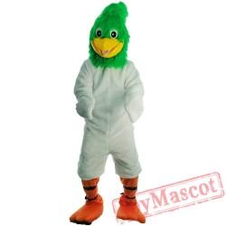 Halloween Green Bird Mascot Costume