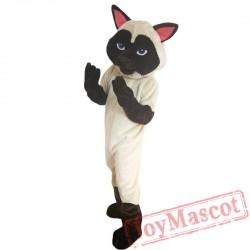Siamese Cat Mascot Costume Adult