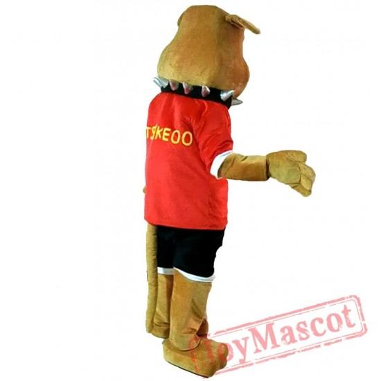 Bulldog Mascot Costume Adult