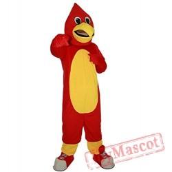 Eagle Animal Mascot Costume Red Bird