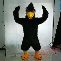 Black Eagle Bird Mascot Costume