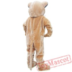 Adult Cougar Mascot Costume