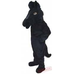 Black Mustang Lightweight Mascot Costume