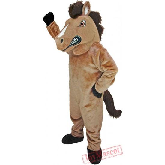 Fierce Mustang Mascot Costume