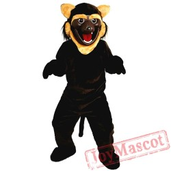 Brown Wildcat / Tiger Mascot Costume