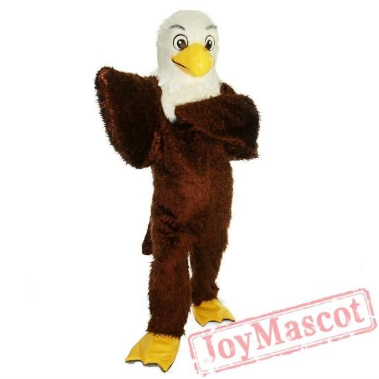 Brown Eagle Bird Mascot Costume