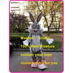 Easter Bunny Mascot Costume Easter Bugs Rabbit