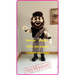 Highlander Mascot Warrior Mascot Costume