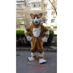 Plush Cat Mascot Costume