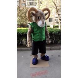 Bighorn Mascot Ram Goat Costume