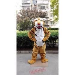 Plush Tiger Mascot Costume