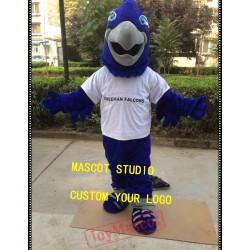 Blue Falcon Mascot Costume Eagle Hawk