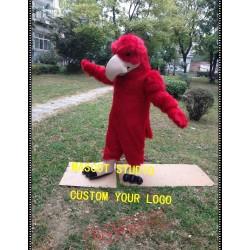 Red Eagle Mascot Costume Falcon Hawk