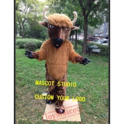 Bull Mascot Cattle Cow Costume