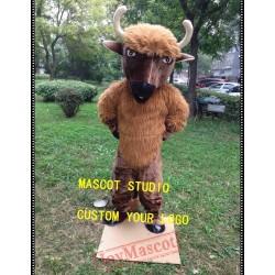 Bull Mascot Cattle Cow Costume