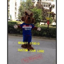 Football Wolf Mascot Costume