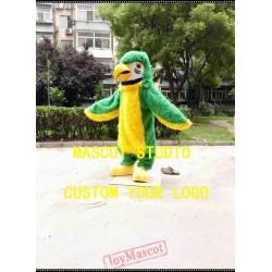 Green Plush Parrot Mascot Costume Bird Costume