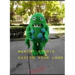 Bacterium Germ Monster Mascot Virus Costume