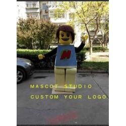 Lego Superman Mascot Costume