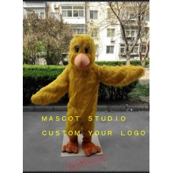 Yellow Chick Mascot Costume Little Chicken