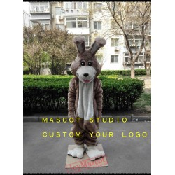 Brown Rabbit Bunny Mascot Costume