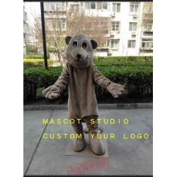 Beaver Mascot Costume Caster Fiber